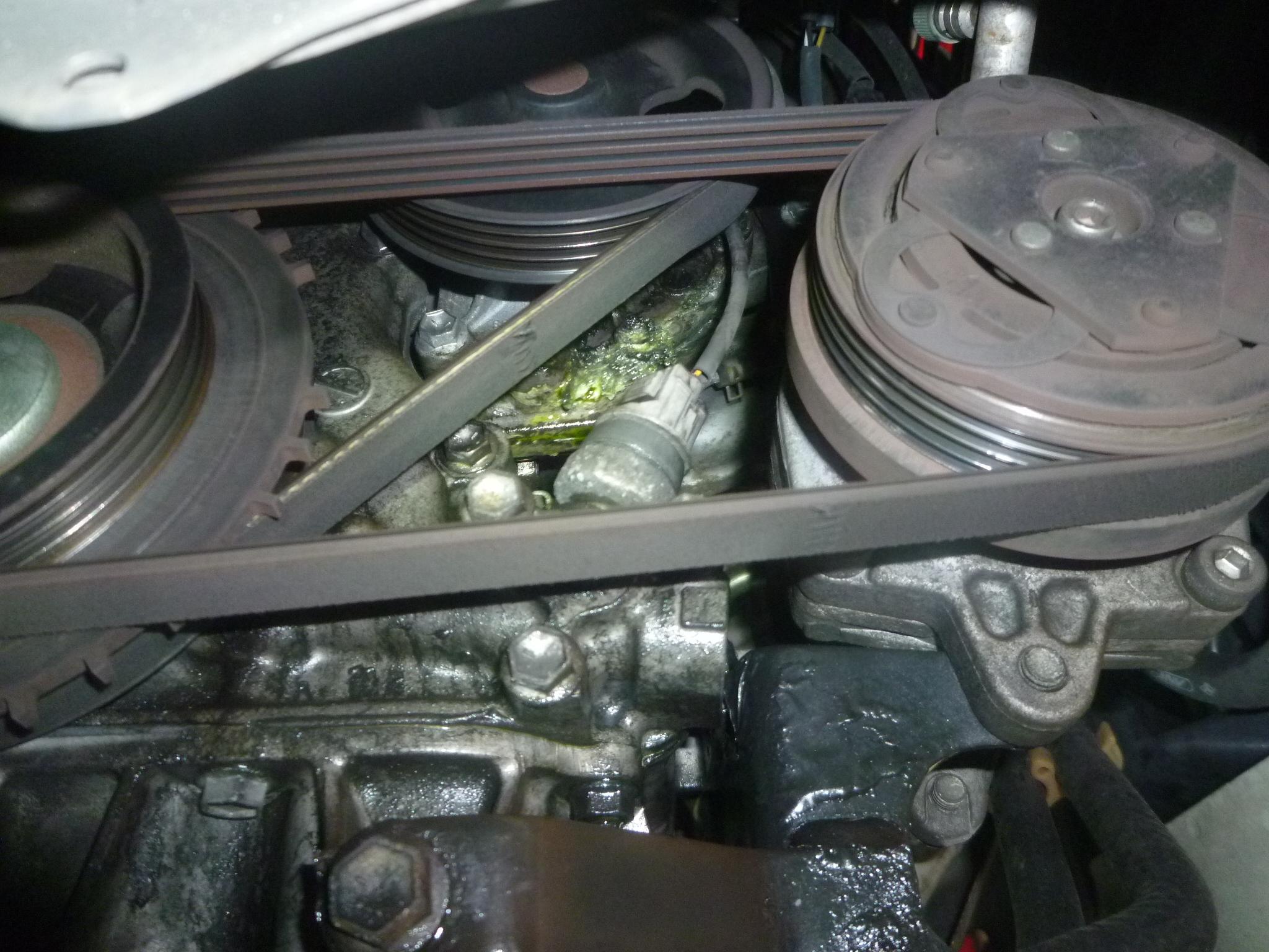 水 漏れ 冷却 車